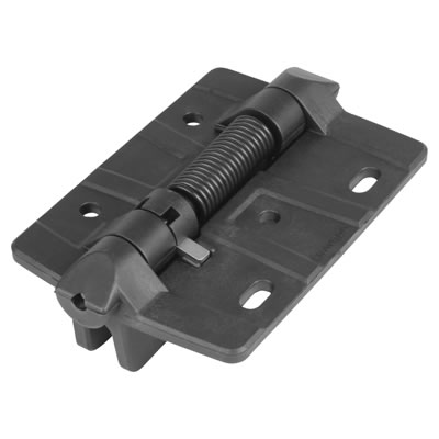 Light Duty Nylon Gate Hinge - Self Closing - Adjustable Tension