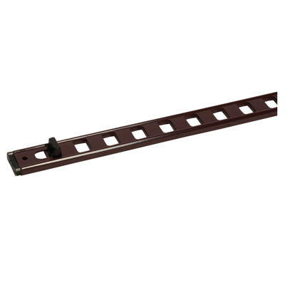 Trickle Vent - uPVC/Timber - 367 x 22mm - Metal Window Vent - Brown)