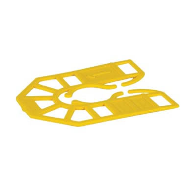 Horseshoe Packer - 55 x 43 x 1mm - Yellow - Pack 200)