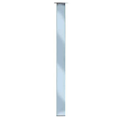 Designer Square Table Leg - 710mm - Chrome)