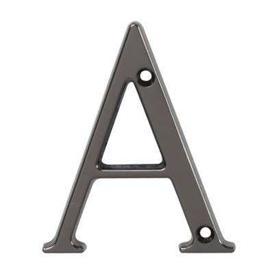 76mm Letter - A - Bright Bronze