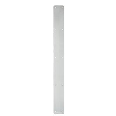1.5mm Plain Finger Plate - 1000 x 75mm - Satin Aluminium