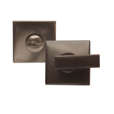 Jedo Square Turn & Release - Dark Bronze