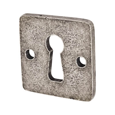 Finesse Jesmond Keyhole Escutcheon - Pewter)