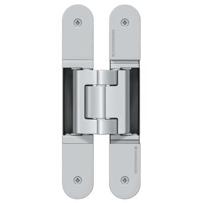 Simonswerk Tectus TE540 3D Hinge - 200 x 32mm - F1 Matt Chrome - Pair)