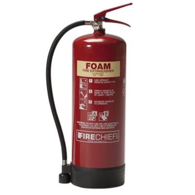 Foam Fire Extinguisher - 9 Litre)