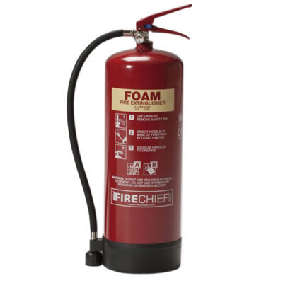 Foam Fire Extinguisher - 9 Litre
