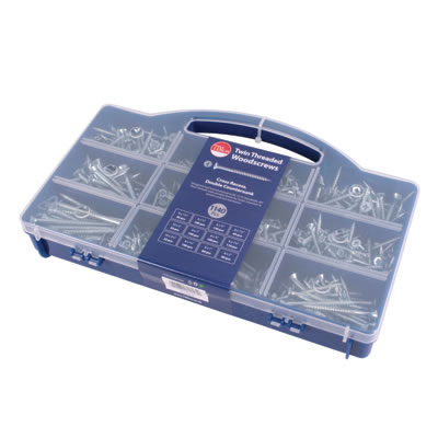 TIMco Twin Thread Assortment Tray - Pack 1140