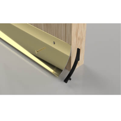Stormguard SRD 63 Rain Deflector - 1000mm - Gold