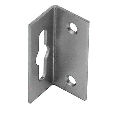 Keyhole Hanging Bracket - 19.5 x 20.5 x 48mm - Zinc Plated Steel - Pack 10