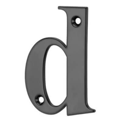76mm Letter - D - Black
