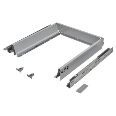 Blum TANDEMBOX ANTARO Drawer Pack - BLUMOTION Soft Close - (H) 84mm x (D) 450mm x (W) 450mm - Grey
