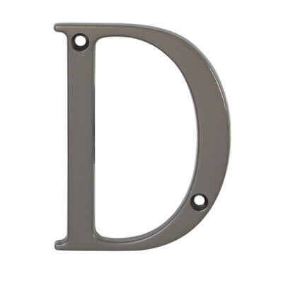 76mm Letter - D - Satin Bronze