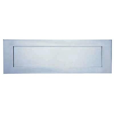 Letter Plate - 353 x 128mm - Satin Anodised Aluminium