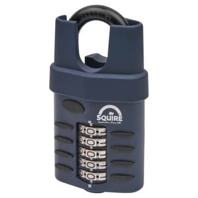 Squire Combi All Weather Padlock - 60mm - Closed Shackle
