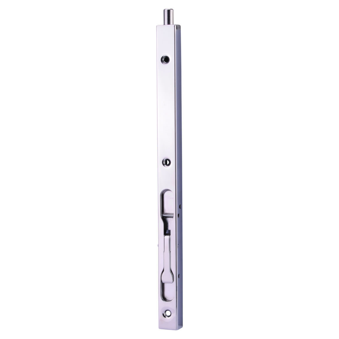 Box Section Flush Bolt - 300 x 19mm - Polished Stainless