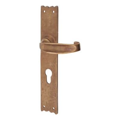 Louis Fraser Sprung Multipoint Lock Lever - uPVC/Timber - 72mm centres - Oil Rubbed Bronze