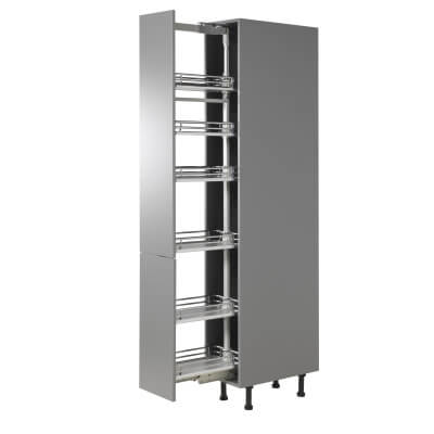 Full Height Soft Close Pull Out Larder Plus - Full Extension - Cabinet Width 300mm