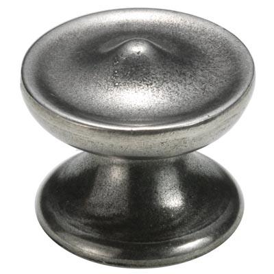 Finesse Round Cabinet Knob - 44mm - Pewter