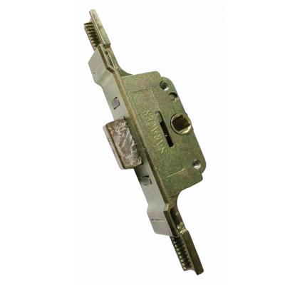 Aubi/Saracen uPVC Cranked Window Lock Gearbox - 22mm Backset - 9.5mm Deadbolt
