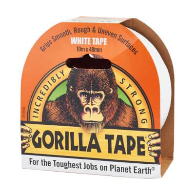 Gorilla Super Strong Tape - 48mm x 11m - White