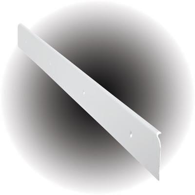 Worktop End Cap - 40 x 630mm - White