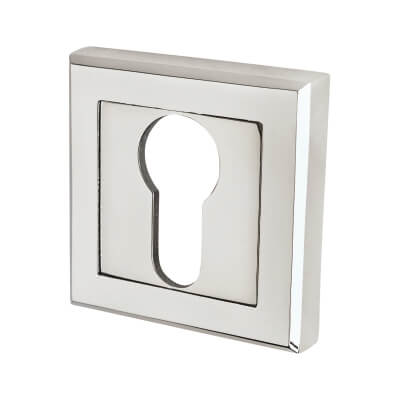 Morello Escutcheon - Euro - Polished Chrome