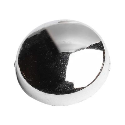 Plastic Screw Dome - Chrome Plated