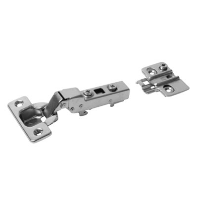 Motion 105° Degree Clip-On Hinge with Integrated Soft Close - Dual - Pack 100 Pairs