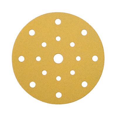 Mirka Gold Discs 17 Hole Multi Format - 125mm - Grit 80 - Pack 50)