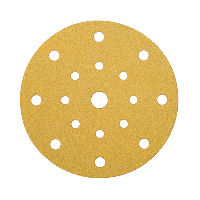 Mirka Gold Discs 17 Hole Multi Format - 125mm - Grit 80 - Pack 50