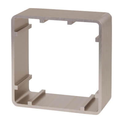 Stainless Steel Surface Box - 88 x 88mm