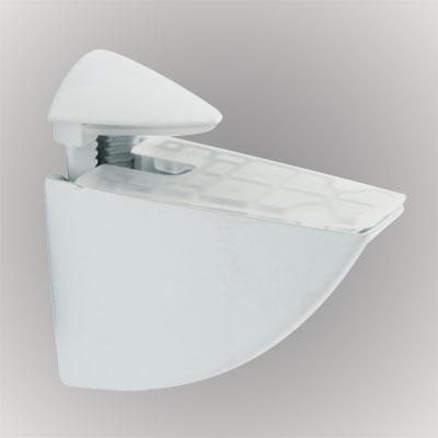 Pelican Shelf Support Bracket - 3-20mm Shelf Thickness - White