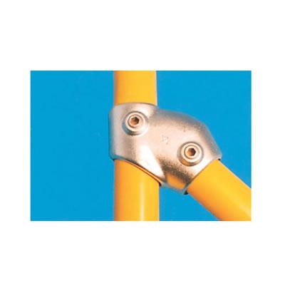 Tee Connector - Adjustable (30-60 degree) - Galvanised)