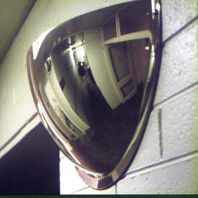 Hemisphere Half Dome Mirror - 600mm Diameter)
