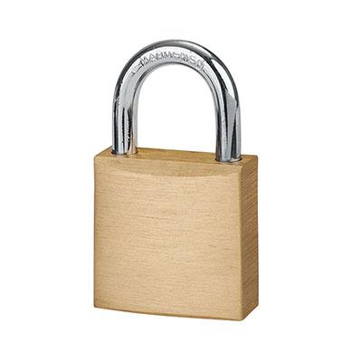 Solid Brass Padlock - 30mm - Keyed Alike Key No 1