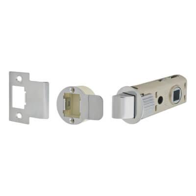 UNION JFL26 FastLatch Tubular Push-Fit Latch - 60mm Case - 44mm Backset - Polished Chrome)