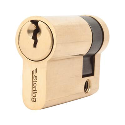 5 Pin Cylinder - Euro Single - 41mm - Brass