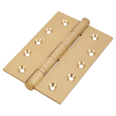 Performance Ball Bearing Hinge - 127 x 89 x 4mm - Satin Brass