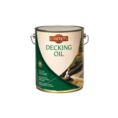 Liberon Decking Oil - Clear - 5000ml)