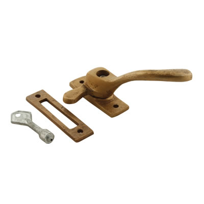 Louis Fraser Locking Ball End Window Fastener - Right Hand - Oil Rubbed Bronze