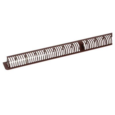 Trimvent XHD16 - uPVC/Timber - Window Vent - Grille - 352 x 16mm - Brown)
