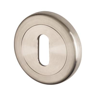 A-Spec Escutcheon - Keyhole - 316 Satin Stainless Steel