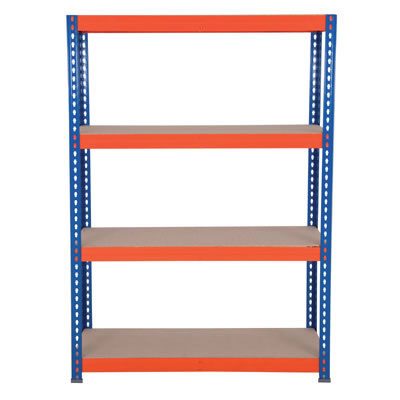 4 Shelf Industrial Shelving - 300kg - 1800 x 1500 x 600mm