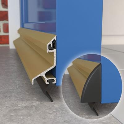 Exitex Standard Rain Deflector and Drip Bar - 914mm - Gold