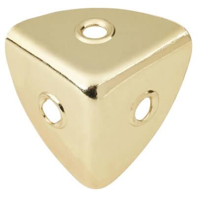 Case Corner - 28 x 28mm - Electro Brass