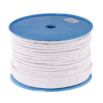 Waxed Cotton Sash Cord - 8mm - 100 metre Coil)