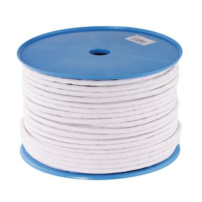 Waxed Cotton Sash Cord - 8mm - 100 metre Coil