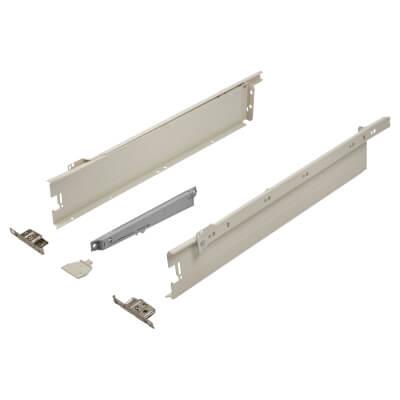Blum METABOX BLUMOTION Soft Close Drawer Pack - Single Extension - 86mm (H) x 500mm (D) - 30kg