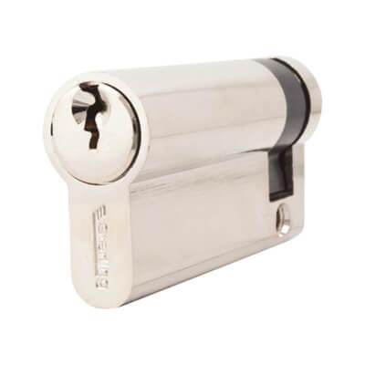5 Pin Cylinder - Euro Single - 61mm - Nickel)